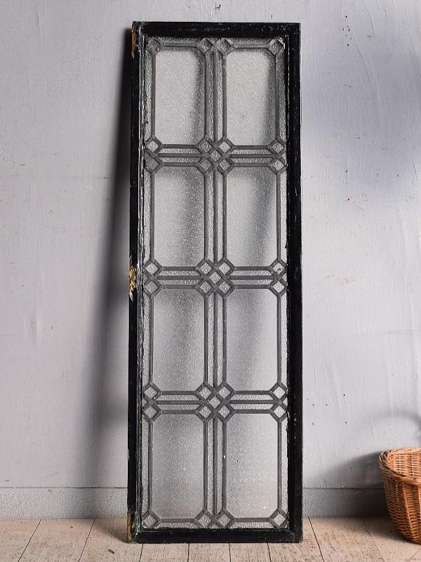 イギリス アンティーク 窓 鉄枠 8952