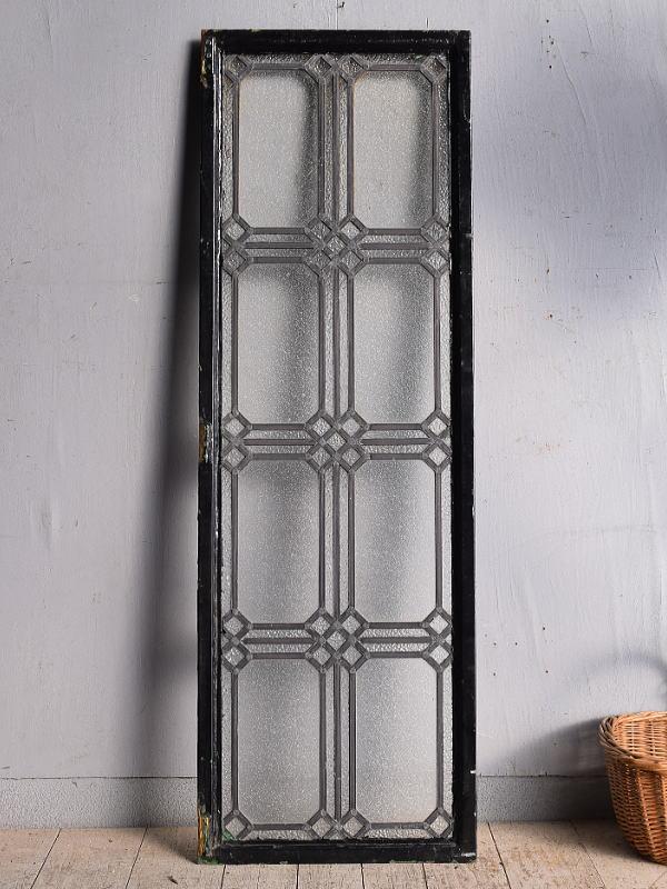 イギリス アンティーク 窓 鉄枠 8953