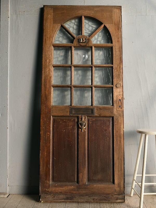 イギリス アンティーク ドア 扉 建具 8960