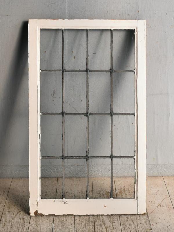 イギリス アンティーク 窓 無色透明 8970