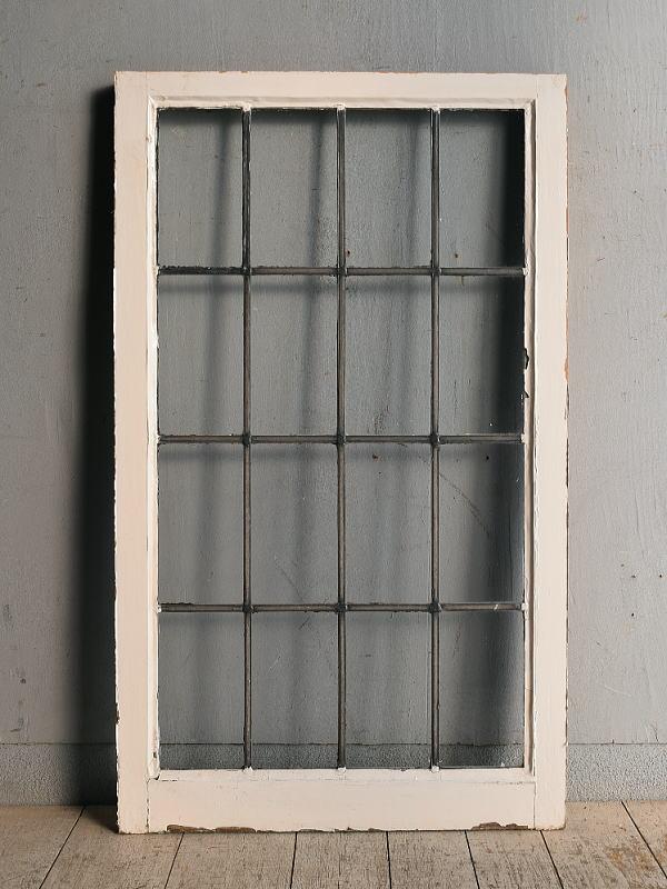 イギリス アンティーク 窓 無色透明 8971