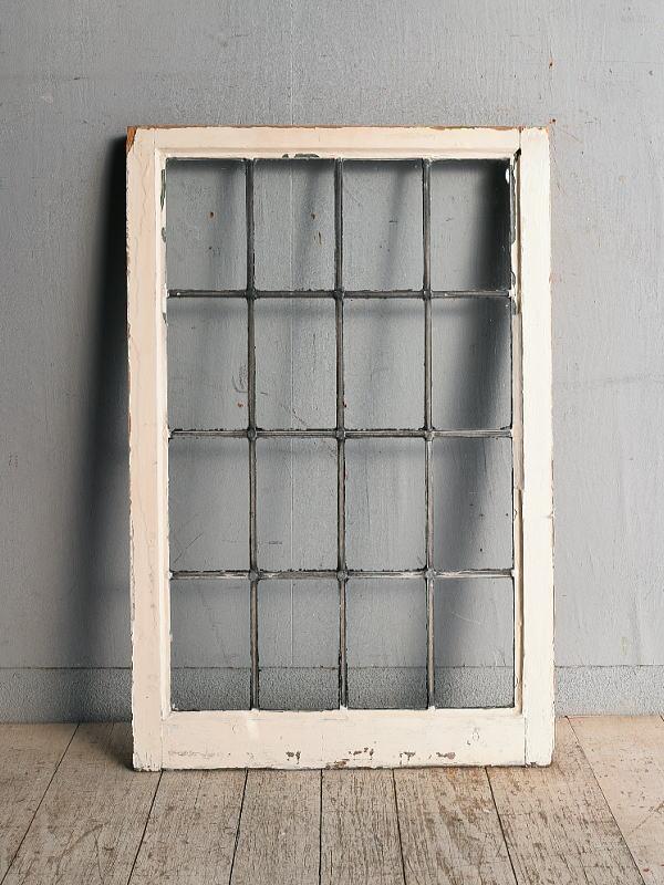 イギリス アンティーク 窓 無色透明 8972