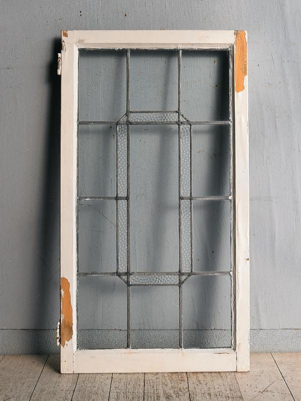 イギリス アンティーク 窓 無色透明 8975