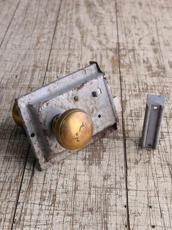 イギリス アンティーク ラッチ&ドアノブ 建具金物 8998
