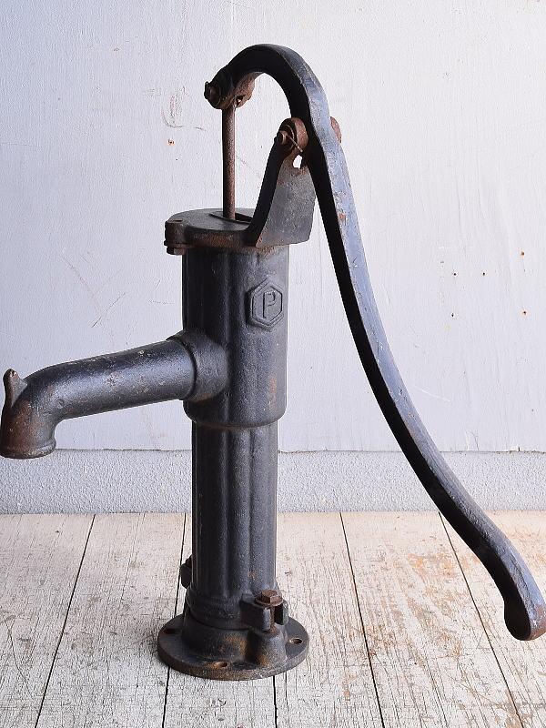 イギリス アンティーク ウォーターポンプ 井戸 ガーデニング 9016