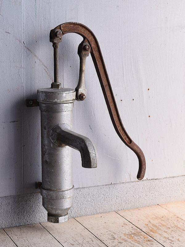 イギリス アンティーク ウォーターポンプ 井戸 ガーデニング 9018