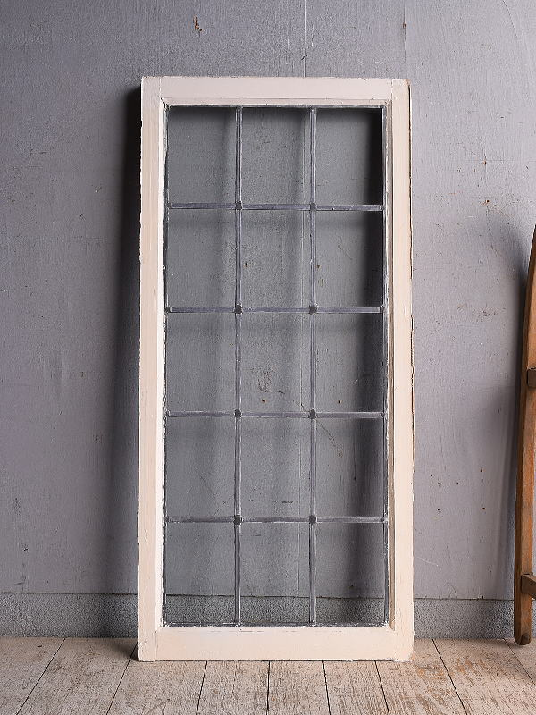 イギリス アンティーク 窓 無色透明 9043