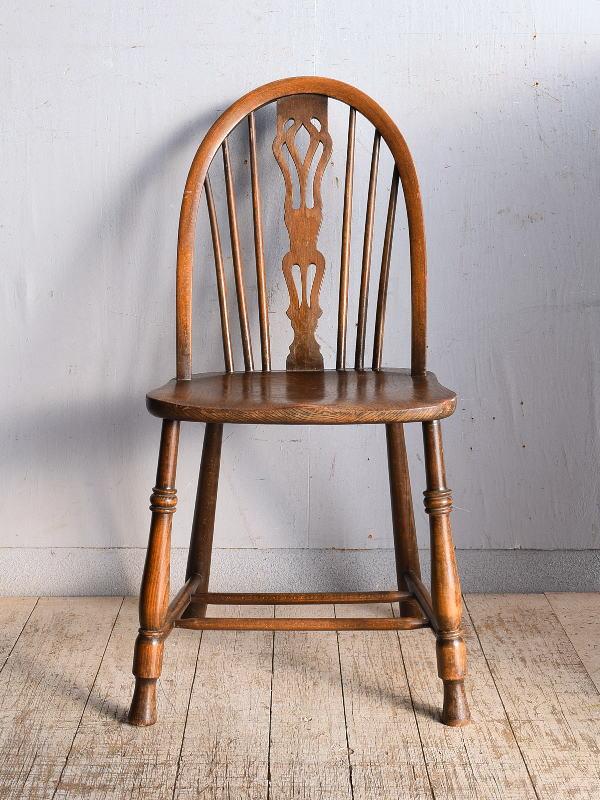 イギリス アンティーク家具 キッチンチェア 椅子 9044