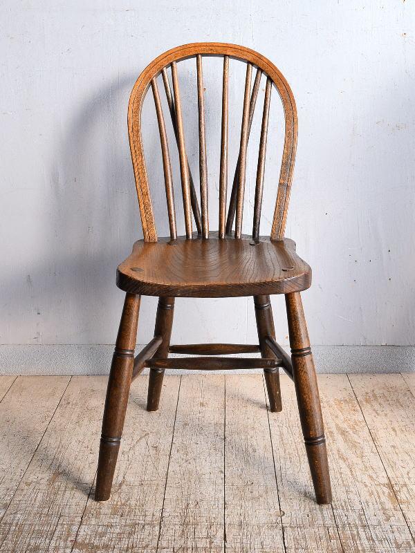 イギリス アンティーク家具 キッチンチェア 椅子 9046