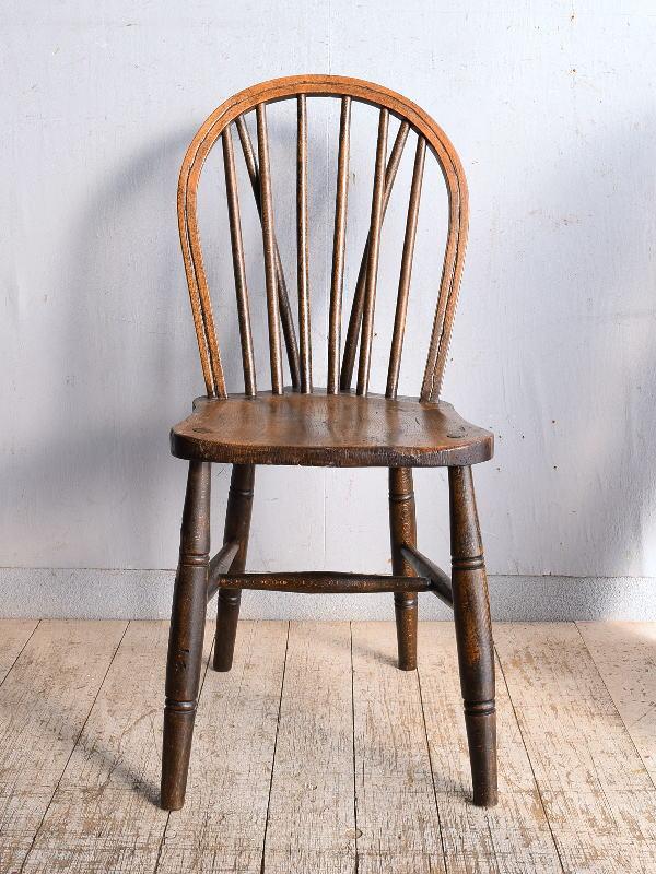 イギリス アンティーク家具 キッチンチェア 椅子 9047