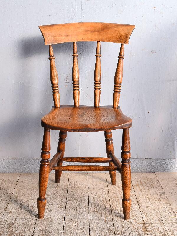イギリス アンティーク家具 キッチンチェア 椅子 9048