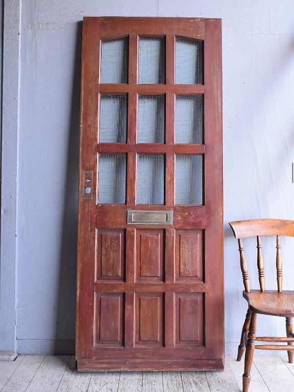 イギリス アンティーク ドア 扉 建具 9068