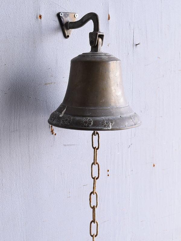 イギリス アンティーク 真鍮製 ベル 呼び鈴 9085