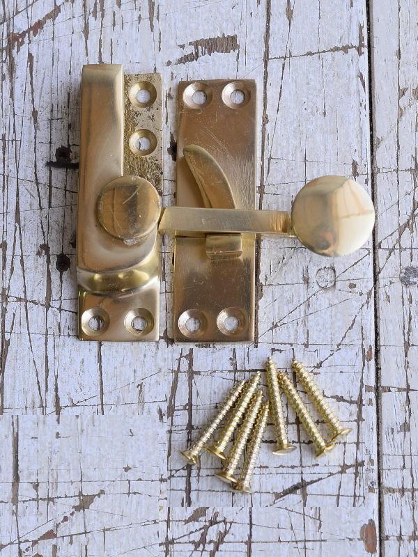 イギリス製 打掛錠 建築金物 建材 9089