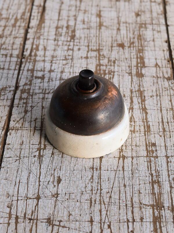 イギリス アンティーク 真鍮製 ブザー 呼び鈴  9107