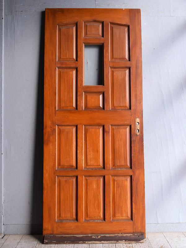 イギリス アンティーク ガラス入りドア 扉 建具 9131