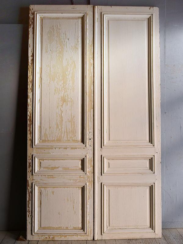 フレンチ アンティーク ドア 扉 建具×2  9226