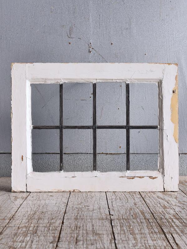 イギリス アンティーク 窓 無色透明 9266