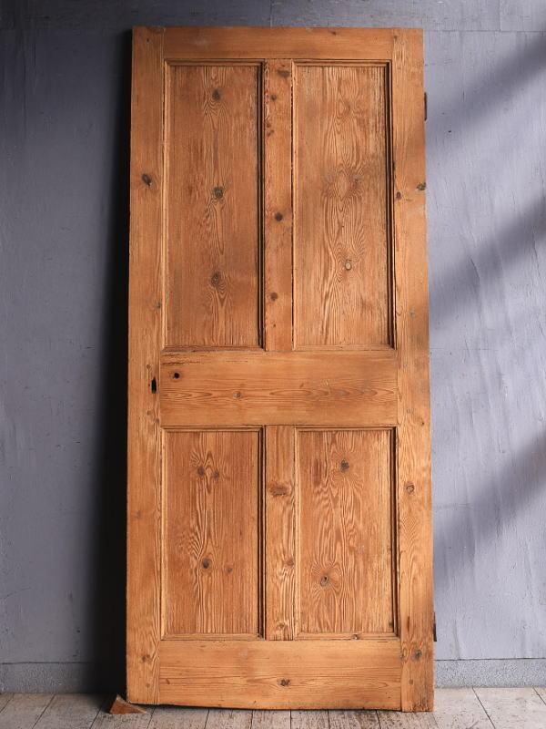イギリス アンティーク オールドパイン ドア 扉 建具 9281