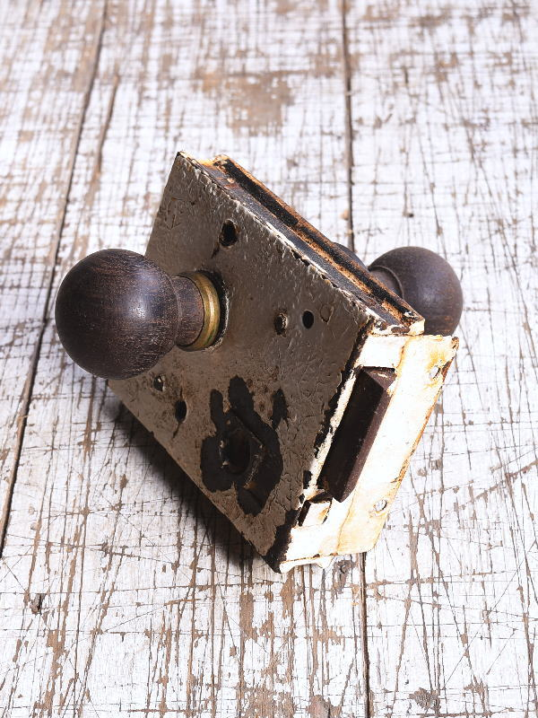 イギリス アンティーク ラッチ&ドアノブ 建具金物 9294