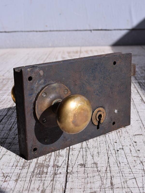 イギリス アンティーク ラッチ&ドアノブ 建具金物 9296