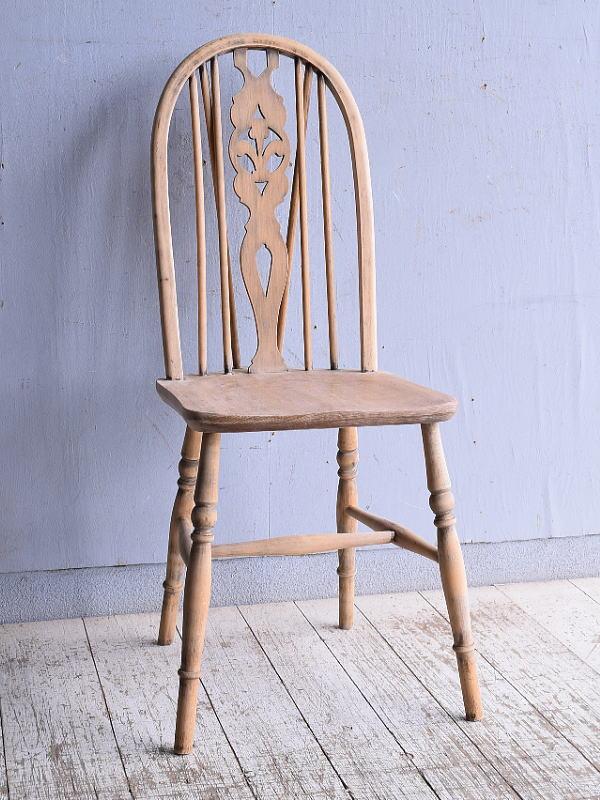 イギリス アンティーク家具 キッチンチェア 椅子 9344