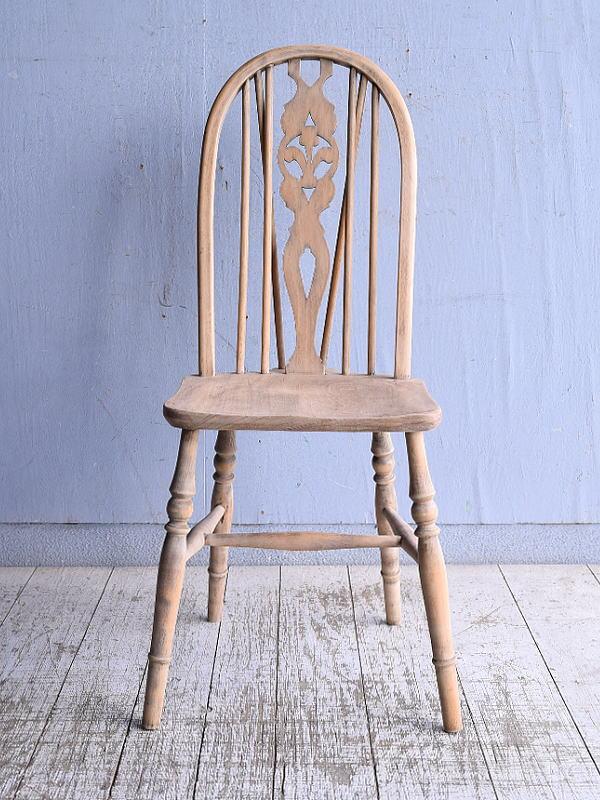 イギリス アンティーク家具 キッチンチェア 椅子 9345