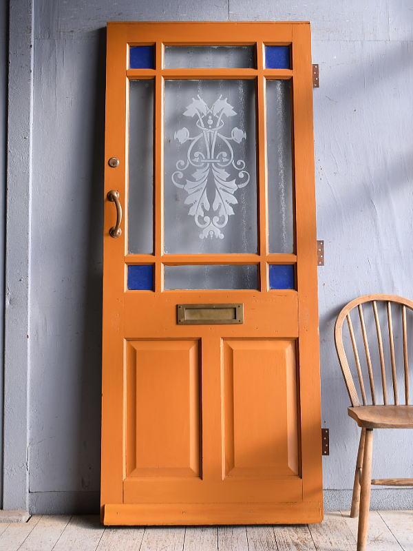 イギリス アンティーク ドア 扉 建具 9352