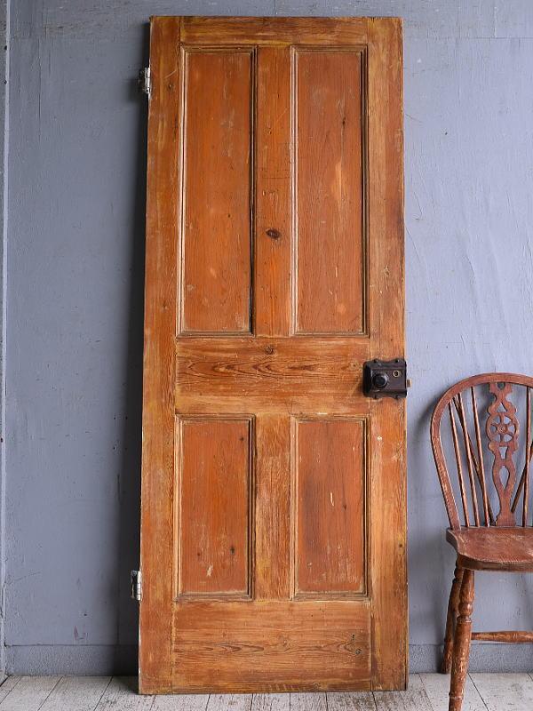 イギリス アンティーク オールドパイン ドア 扉 建具 9366