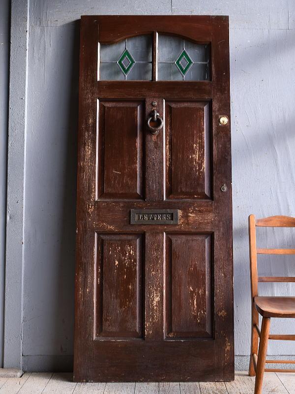 イギリス アンティーク ドア 扉 建具 9367