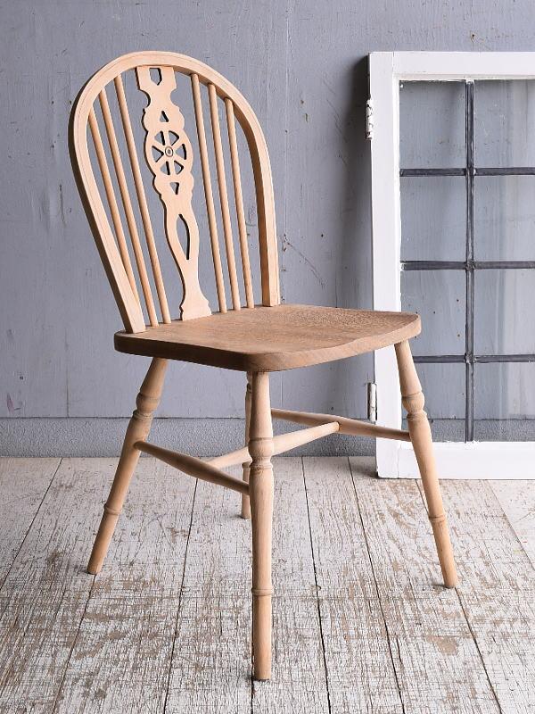 イギリス アンティーク家具 キッチンチェア 椅子 9369