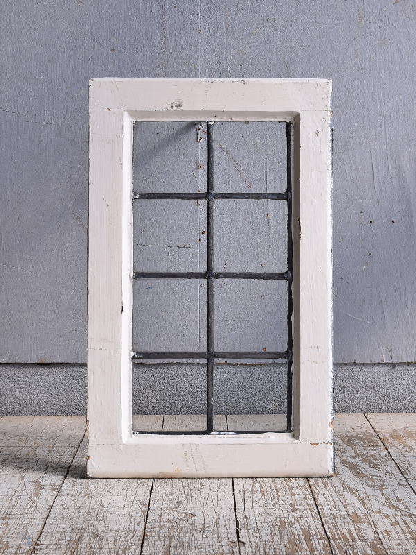 イギリス アンティーク 窓 無色透明 9385