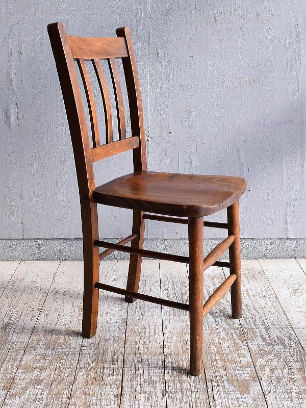 イギリス アンティーク家具 キッチンチェア 椅子 9406