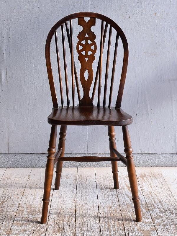 イギリス アンティーク家具 キッチンチェア 椅子 9407