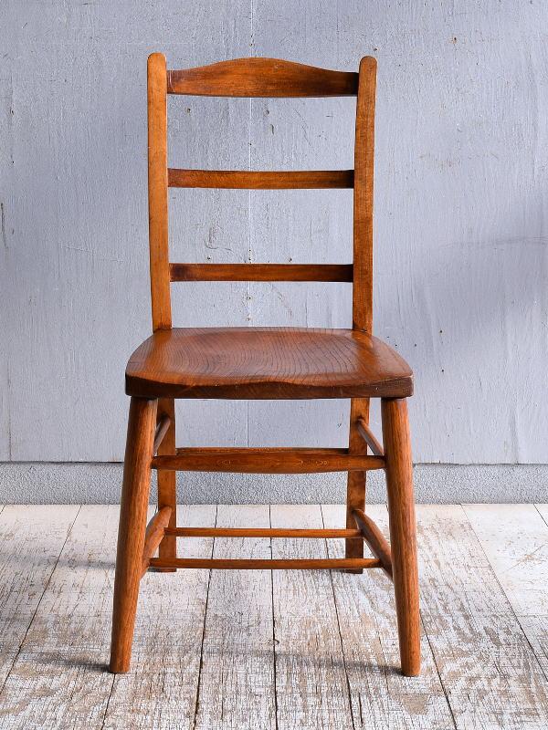 イギリス アンティーク家具 キッチンチェア 椅子 9408