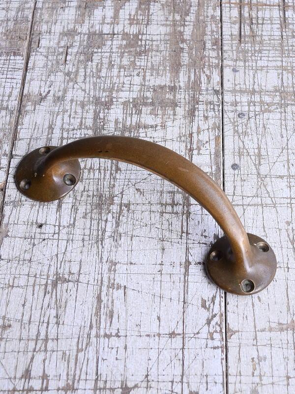 イギリス アンティーク 真鍮ハンドル 建具金物 取っ手 9421