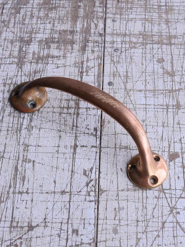 イギリス アンティーク 真鍮ハンドル 建具金物 取っ手 9423