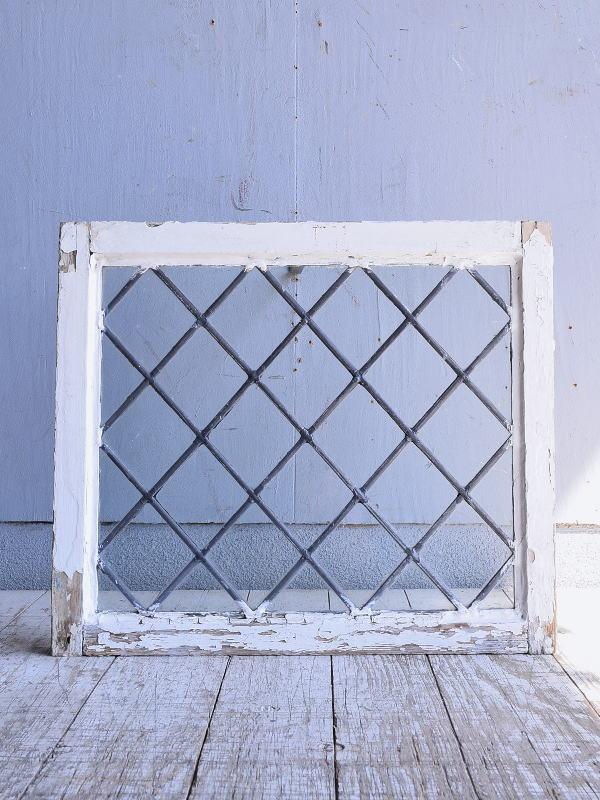 イギリス アンティーク 窓 無色透明 9442