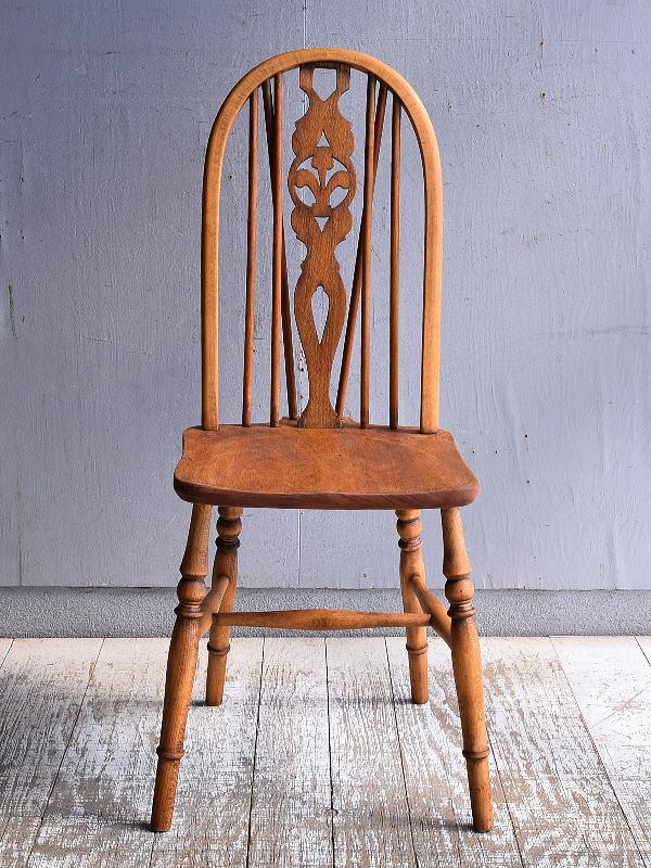 イギリス アンティーク家具 キッチンチェア 椅子 9487