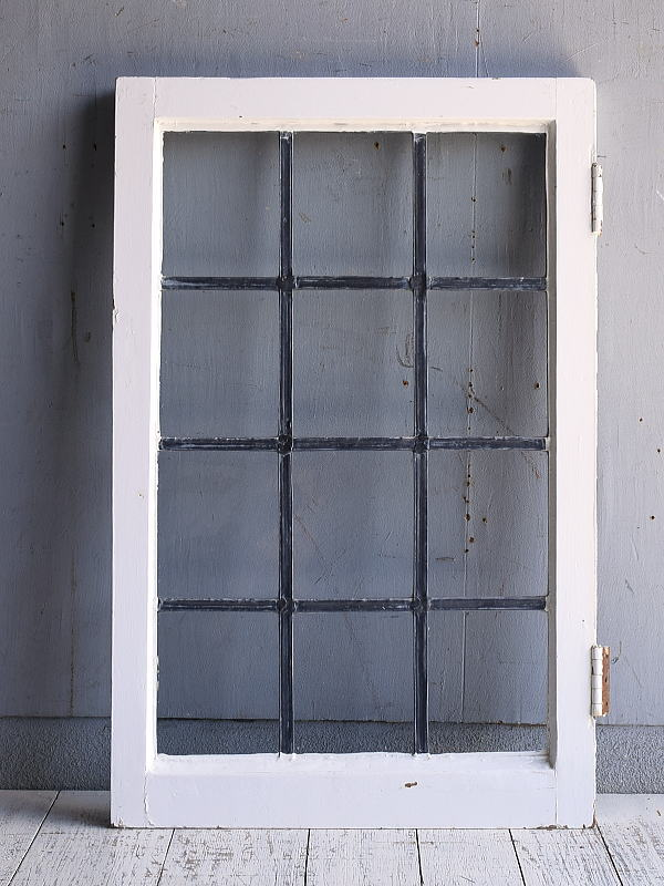 イギリス アンティーク 窓 無色透明 9555