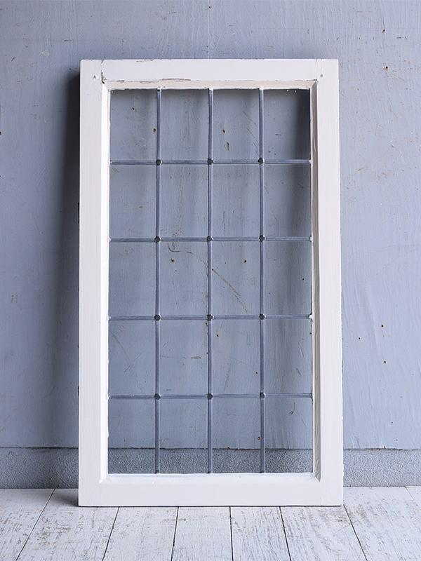 イギリス アンティーク 窓 無色透明 9597