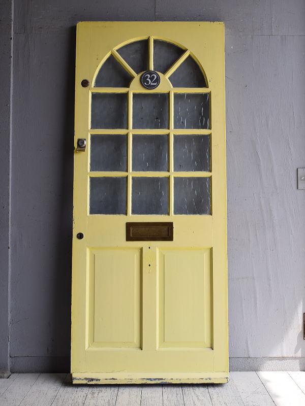 イギリス アンティーク ドア 扉 建具 9603