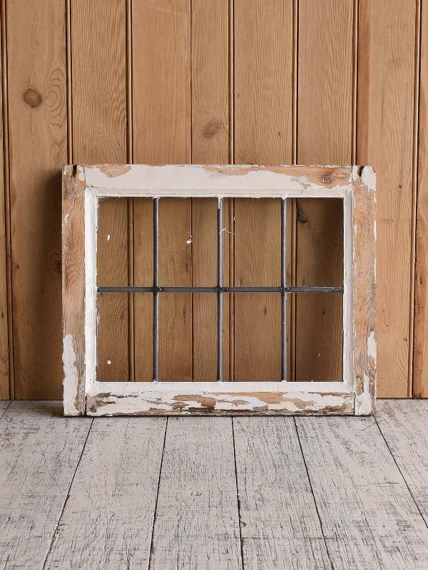 イギリス アンティーク 窓 無色透明 9615