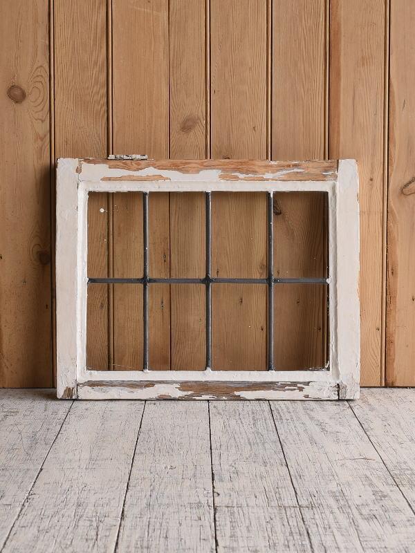 イギリス アンティーク 窓 無色透明 9617