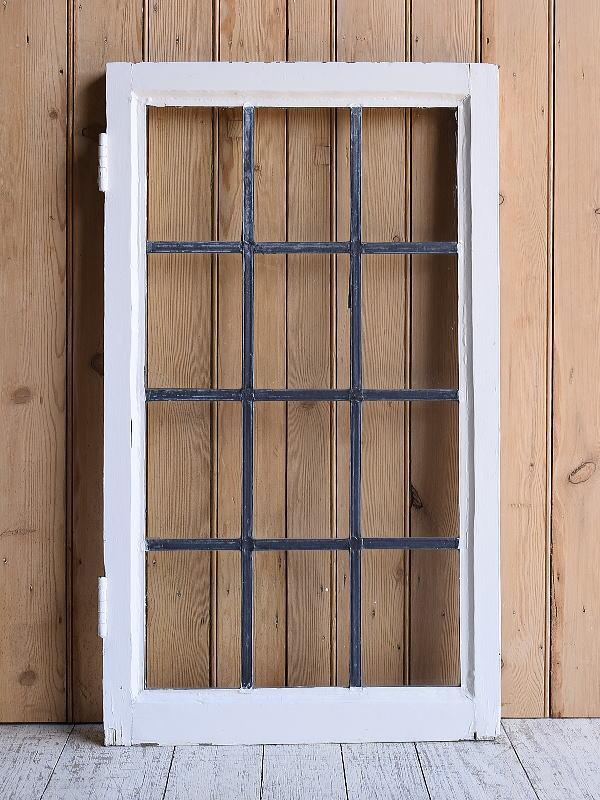 イギリス アンティーク 窓 無色透明 9619