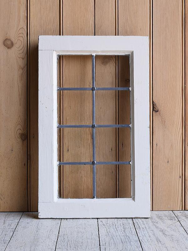 イギリス アンティーク 窓 無色透明 9630
