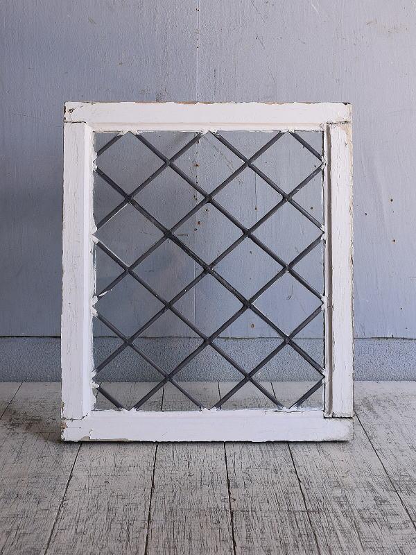 イギリス アンティーク 窓 無色透明 9644