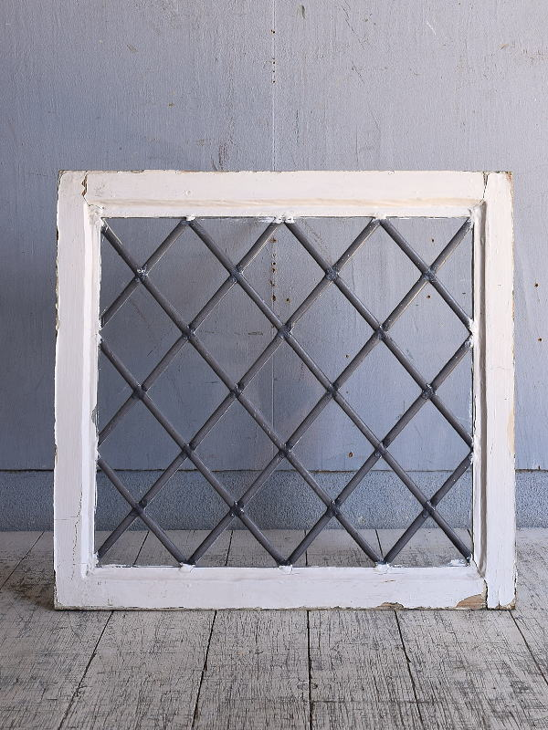 イギリス アンティーク 窓 無色透明 9645