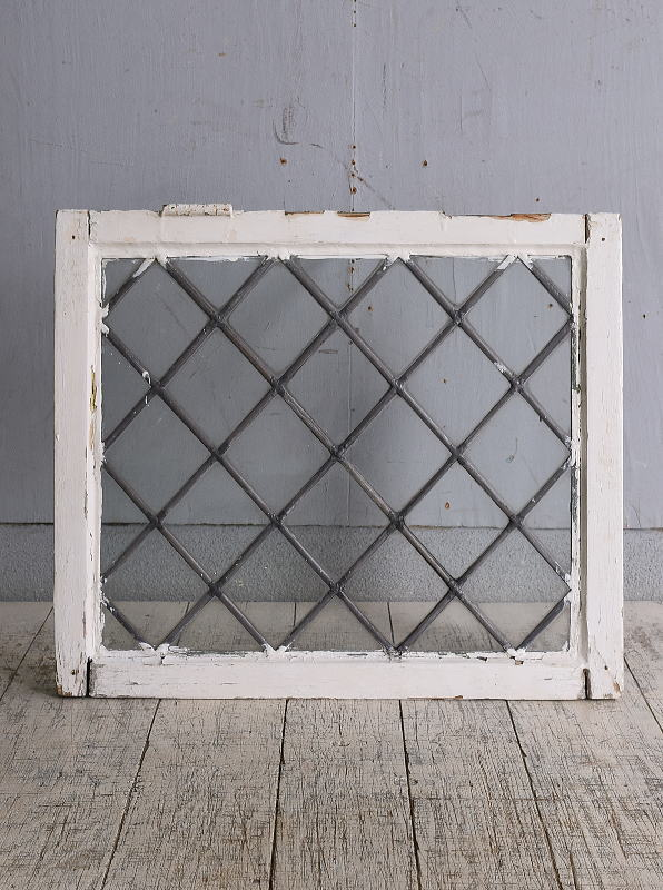 イギリス アンティーク 窓 無色透明 9649