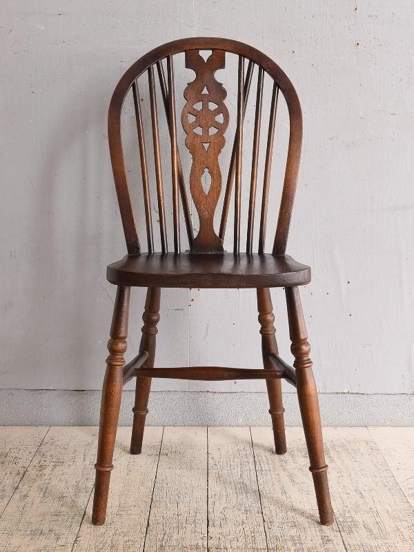 イギリス アンティーク家具 キッチンチェア 椅子 9653